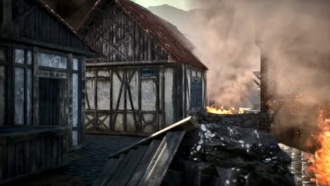 burning hanging gallows in medieval village - cobblestone stock videos & royalty-free footage