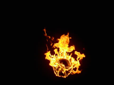 burning head of flame - 炎点の映像素材/bロール