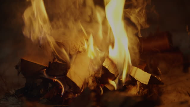 burning logs - preparation stock videos & royalty-free footage