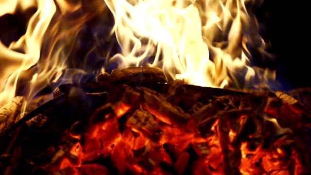 burning wood in slow motion - super slow motion stock videos & royalty-free footage