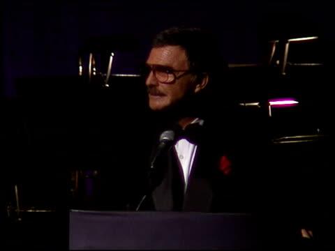 Burt Reynolds at the American Cinema Awards at the Biltmore Hotel in Los Angeles California on November 2 1996