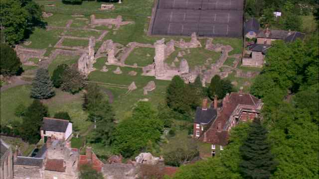 bury st edmund's abbey - bury st edmunds stock videos & royalty-free footage