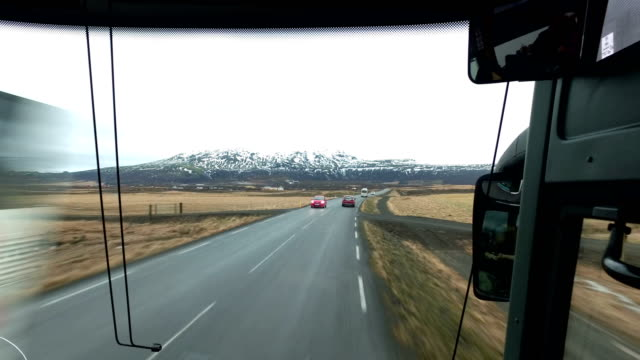 Bus / Coach ride at Golden Circle, Iceland