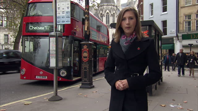 a bus company is appealing a court ruling over the way it prioritises the use of disabled bays after a judge found its current policy discriminatory... - baroness stock videos & royalty-free footage