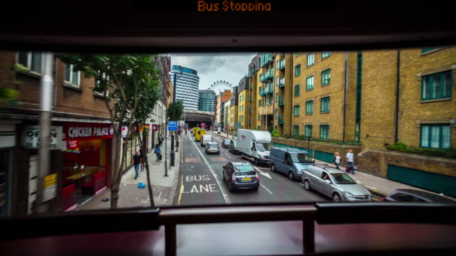 POV: Bus Drive through London - Driving/Process Plates