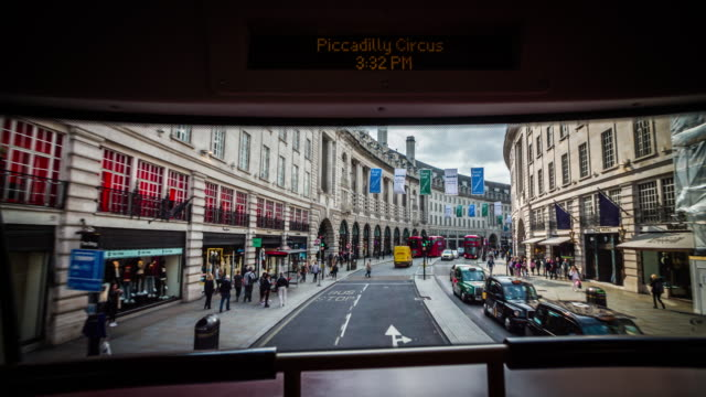 POV: Bus Drive through London - Regent Street