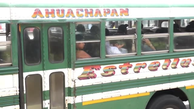 Bus services resume after heavy police and military deployment in El Salvador dampening efforts by gangs to halt public transport as they seek...