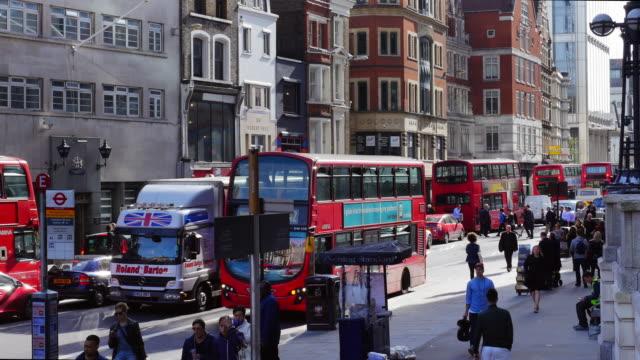 Bushaltestelle In London Bishopsgate (UHD