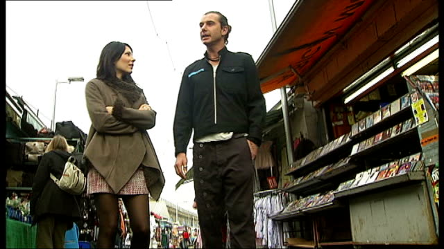 'Bush' perform in London ENGLAND London EXT Gavin Rossdale along in market with ITN Reporter Gavin Rossdale interview as along in market SOT I only...