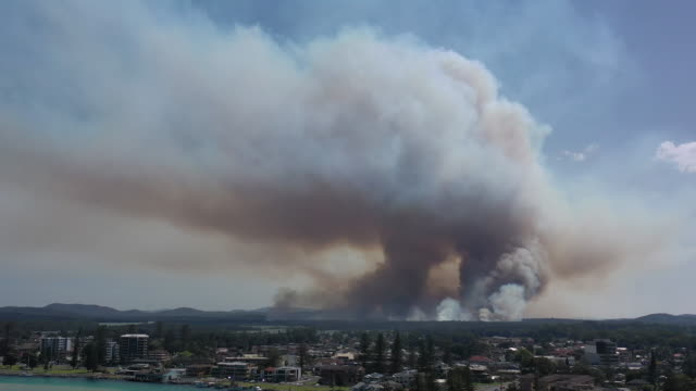 bushfire - town stock videos & royalty-free footage