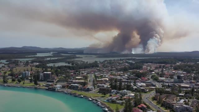bushfire - fire natural phenomenon stock videos & royalty-free footage