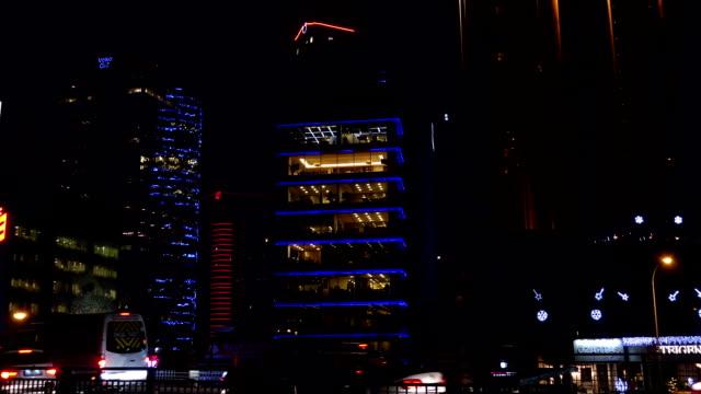 vídeos de stock e filmes b-roll de negócios e skyscrapers intervalo de tempo - rx