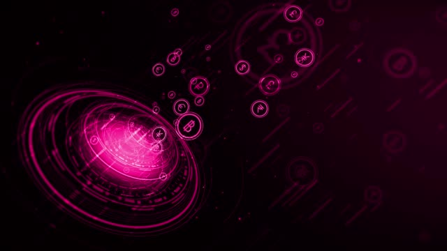 4k business background (loopable) - currency symbol stock videos & royalty-free footage