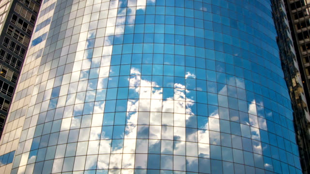 business building close up - cloudscape stock videos & royalty-free footage