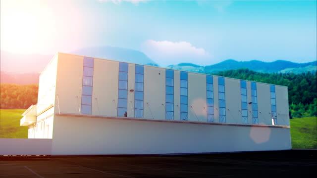 vidéos et rushes de immeuble d'entreprises - façade