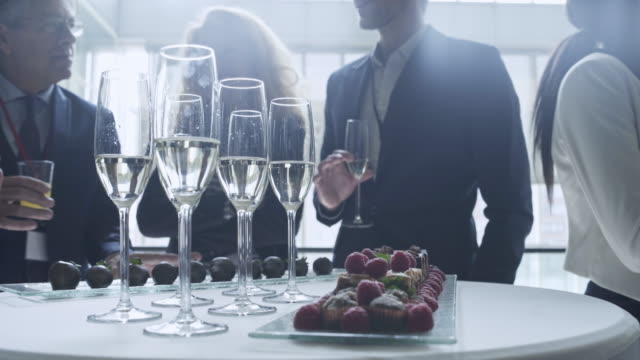 Business celebration 4K Video