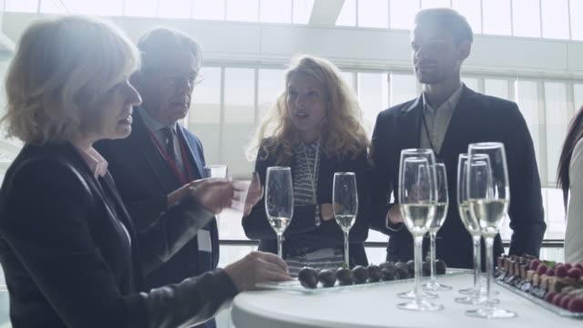 Business celebration 4K Video