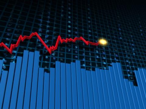 vídeos y material grabado en eventos de stock de business chart, graph growth - diagrama de línea