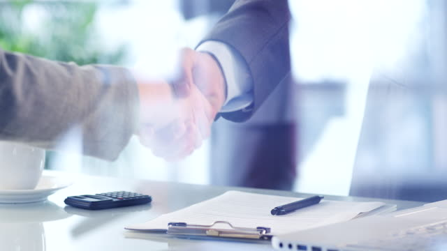 business deal - handshake stock videos & royalty-free footage