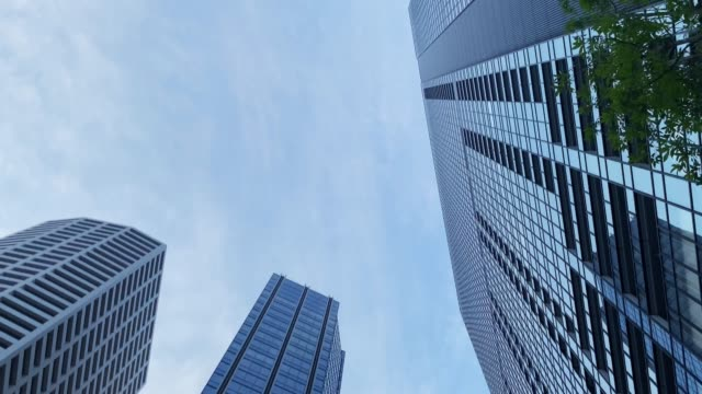 business district economy cityscape in tokio - bank stock-videos und b-roll-filmmaterial