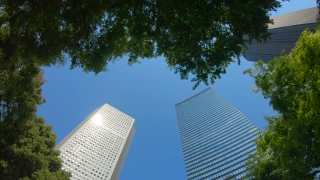 Business District Shinjuku Skyscrapers