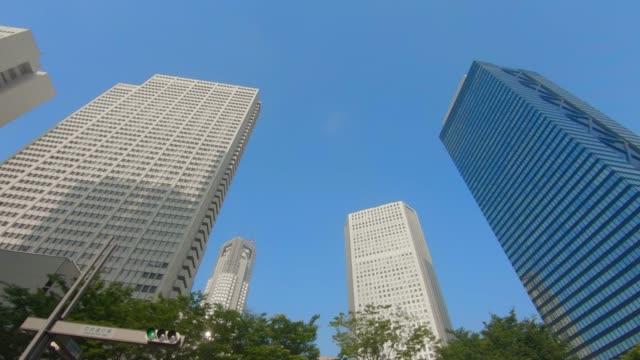 商業區摩天大樓 - low angle view 個影片檔及 b 捲影像