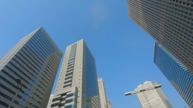 Wolkenkrabbers van zakendistrict