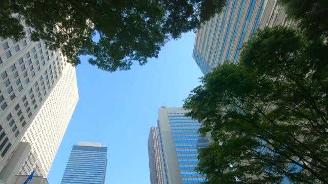 高層ビルのビジネス地区