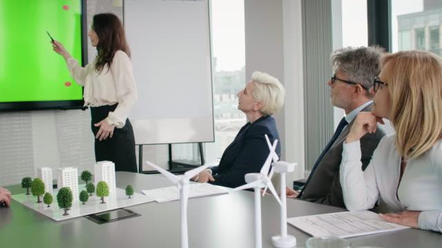 vídeos de stock e filmes b-roll de business eco footage - congresso organizações