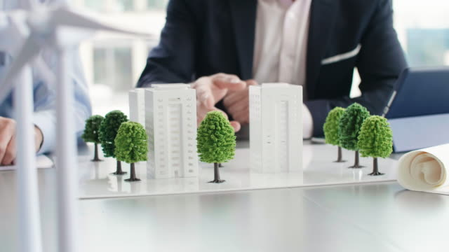business eco footage - architectural model stock videos & royalty-free footage