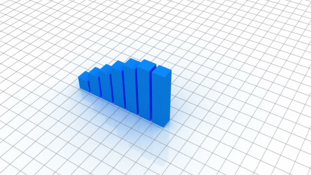 stockvideo's en b-roll-footage met business graph - graph