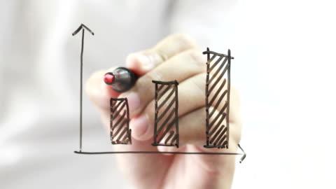 business graph - framgång bildbanksvideor och videomaterial från bakom kulisserna