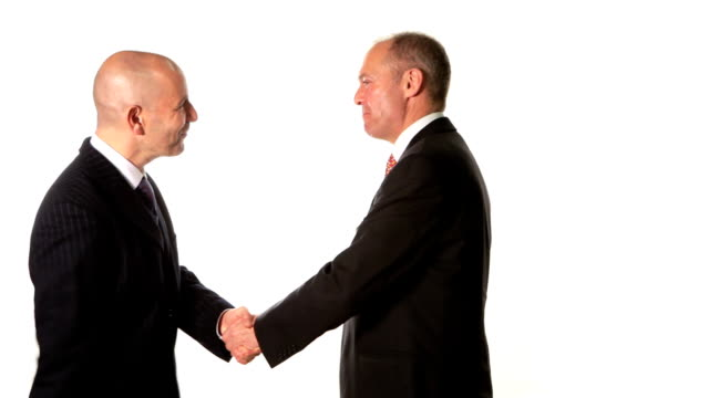 business greeting - business relationship stock videos and b-roll footage