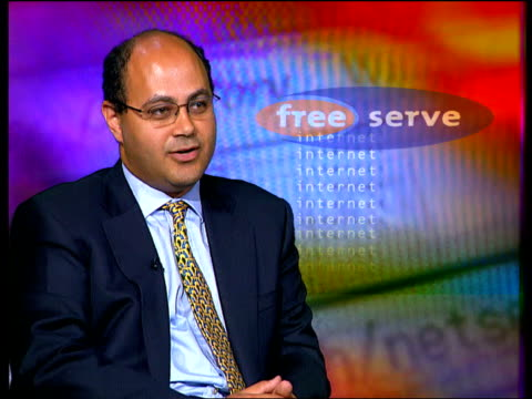 Internet Freeserve Flotation Victor Basta interview SOT Freeserve is facing strong competition from companies like AOL Yahoo i/c