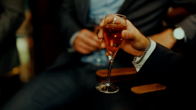 business man at celebration event: drinking wine - grace stock videos & royalty-free footage