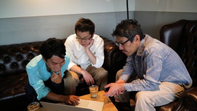 ビジネスミーティングは「ザカフェ」 - デザイナー点の映像素材/bロール
