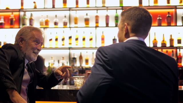 business meeting in a restaurant - bar drink establishment stock videos & royalty-free footage