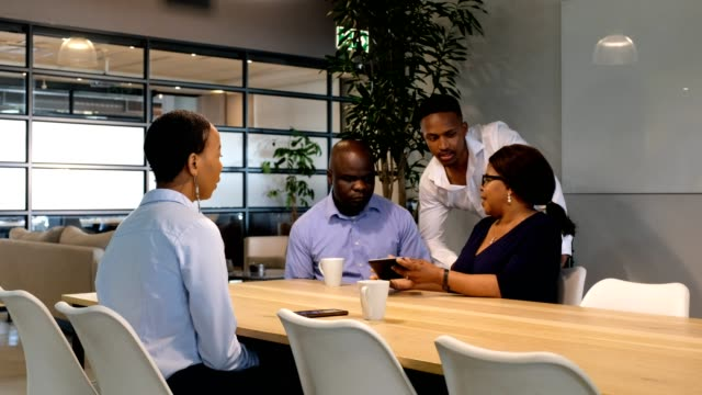 business meeting in the boardroom - role model stock videos & royalty-free footage