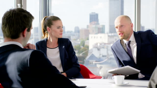 stockvideo's en b-roll-footage met business meeting. - toespraak