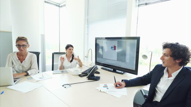 vídeos y material grabado en eventos de stock de reunión de negocios. - contabilidad