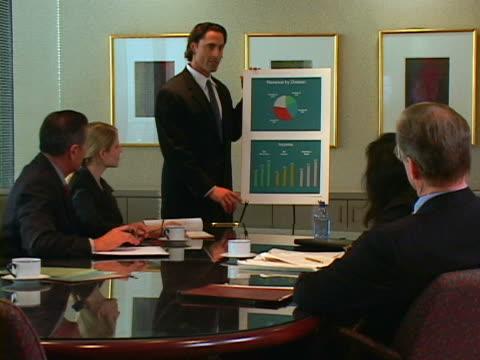 business meeting - 全套西裝 個影片檔及 b 捲影像