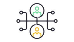 Business Organization Line Icon Animation