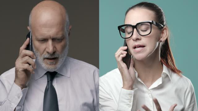 전화통화 논쟁
