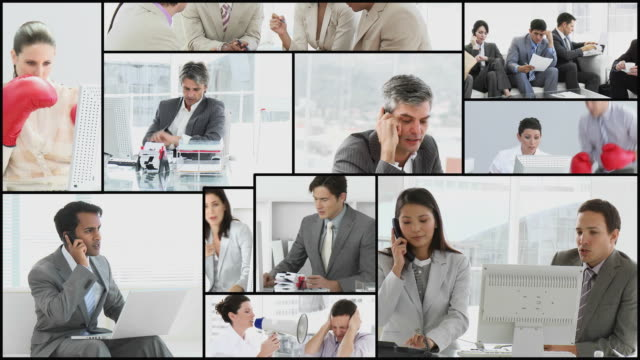 ms business people stressed at work / cape town, western cape, south africa - full suit stock videos and b-roll footage