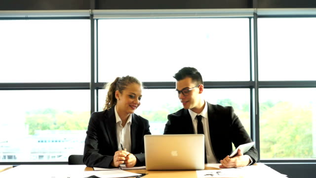business person meeting at the office - employee engagement stock videos & royalty-free footage