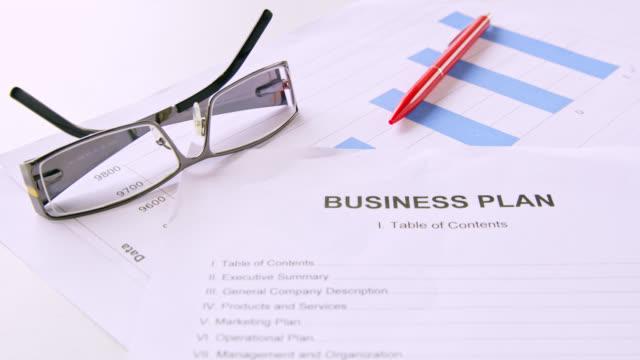 vídeos y material grabado en eventos de stock de plan de negocios de ds - trabajo de oficina