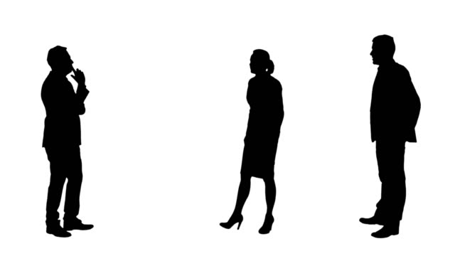 business positions - in silhouette stock videos & royalty-free footage