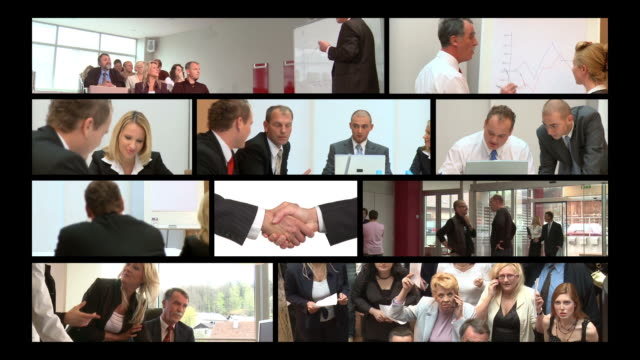 HD MONTAGE: Business Presentation