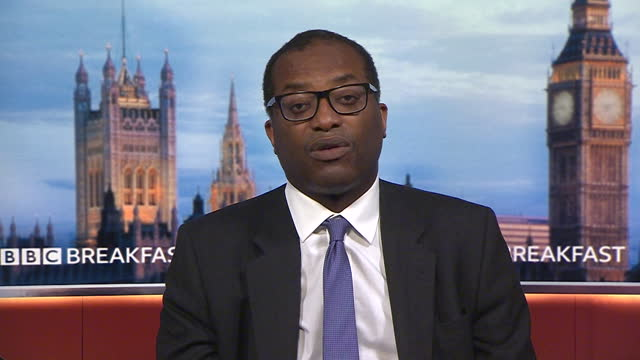 """business secretary kwasi kwarteng saying the 3% pay rise figure offered to nhs staff is """"fair"""" considering the financial restraints caused by covid - contemplation stock videos & royalty-free footage"""