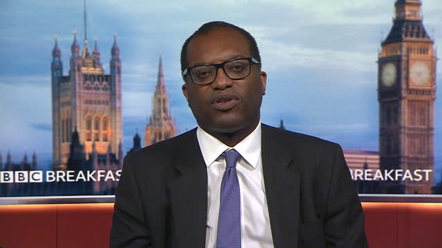 """business secretary kwasi kwarteng saying """"we can't change the rules on a daily basis"""" in regards to the nhs covid app - information equipment stock videos & royalty-free footage"""